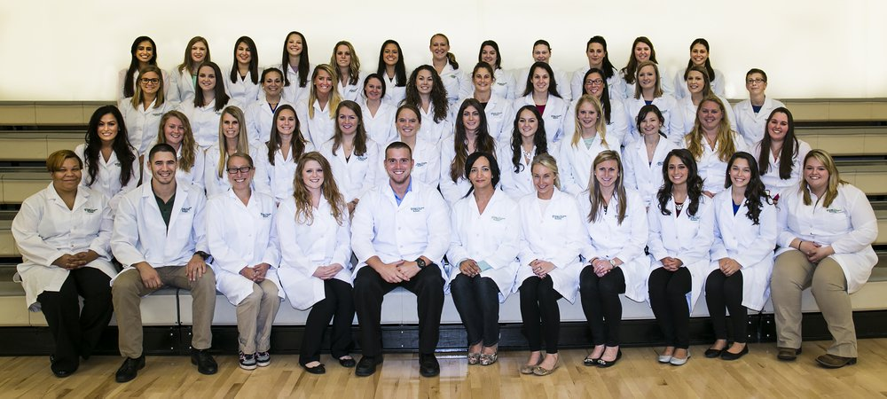 The 2015 nursing graduating class at York College