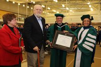 More Than 50 Years Later, Don Myers Earns His Associate's Degree