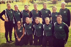 The York College 2015 Club Softball team