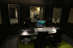 York College's new music recording studio