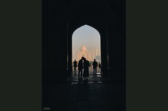 Samantha Citrano photograph taken while traveling in India