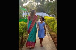 A photo taken by Jessica Cable while traveling in India.
