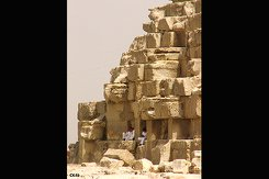 A photograph taken by Timothy Wingert while traveling in Egypt.