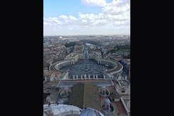 A photo taken while Allison Stillinghagan was traveling in Italy.