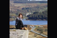 A photo taken while Aimee Lewis was traveling in Wales.