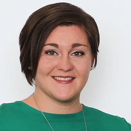 York College admissions counselor Jen Houghton