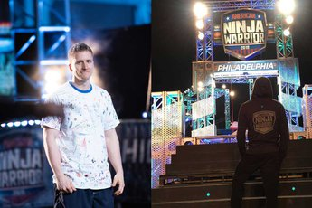 YCP Grad and current student compete in America Ninja Warrior