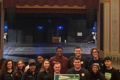 SpartaNation visits the Appell Center for the Performing Arts.