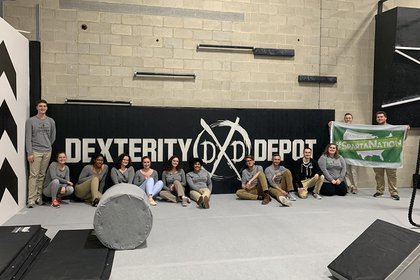 Tim Dexter and YCP Road Crew at Dexterity Depot