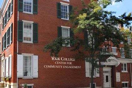 Center for Community Engagement building in downtown York
