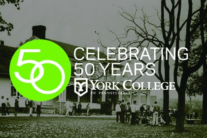 Beginning in 2018, York College will host a year-long celebration to commemorate it's 50th Anniversary.