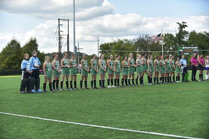 Women's Field Hockey team achieved academic honors.