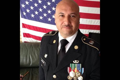 Hector Barajas-Varela, a former paratrooper in the 82nd Airborne Division.