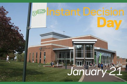 Instant Decision at York College January 21 2019