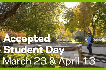 York College Accepted Student Day March 23 and April 13 2019