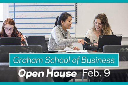 Graham Business School Open House at York College February 2019
