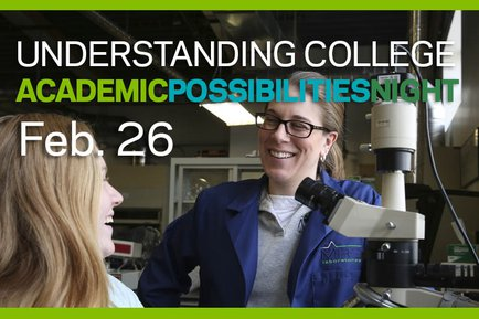 Understanding College: Academic Possibilities night at YCP