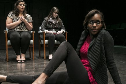 Students produce and perform in 10 minute plays at York College for the Cultural Series