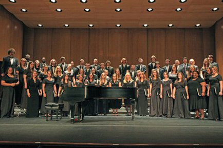 York College's largest vocal ensemble, the Chorale