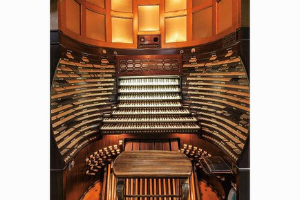 Largest organ piano