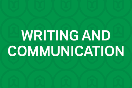 writing and comm feature item