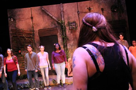 featuring students enrolled in THE430: Devised Theatre & Performance and directed by Tiffany Zellner '19