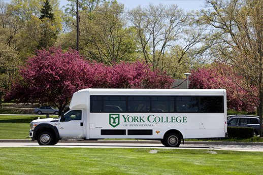 York College shuttle service