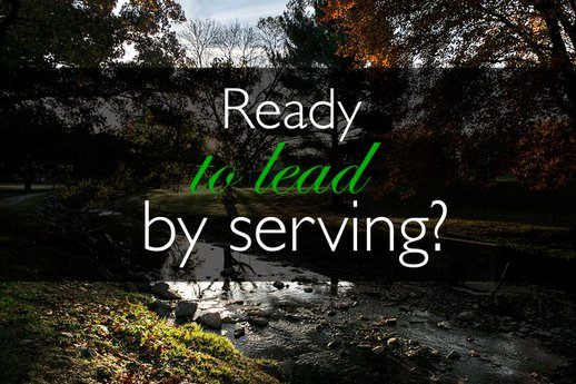 Ready to lead by serving? Apply to be a York College Eisenhart Scholar