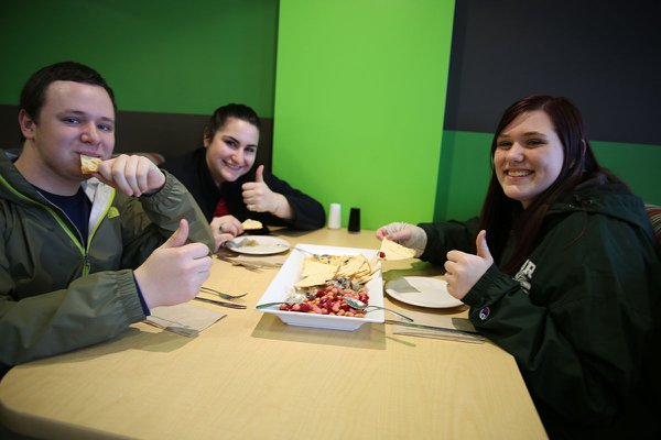 Johnson Dining Hall is just one of numerous places students can use the York College Flex Card.