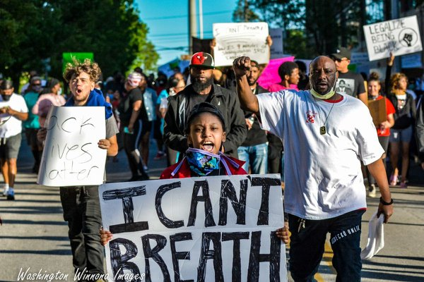 Through Our Lens: I Can't Breathe