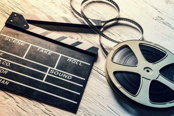 Stock photo of film reel.