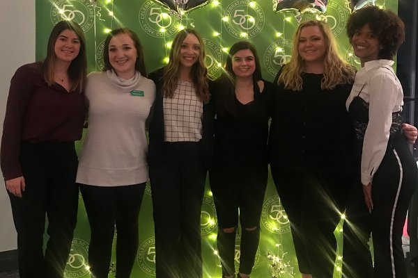 2019 Senior Class Executive Board at 100 Days 'til Graduation