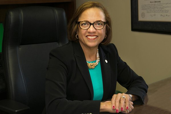 York College President Dr. Gunter-Smith