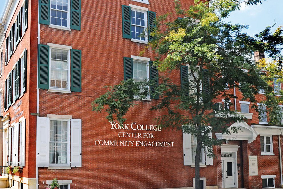 Outside view of the Center for Community Engagement